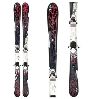 K2 Free Luv Skis + ERS 11.0 TC Demo Bindings - Used - Women's 2012