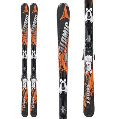Atomic Smoke Ti Skis + XTO 12 Demo Bindings - Used 2011