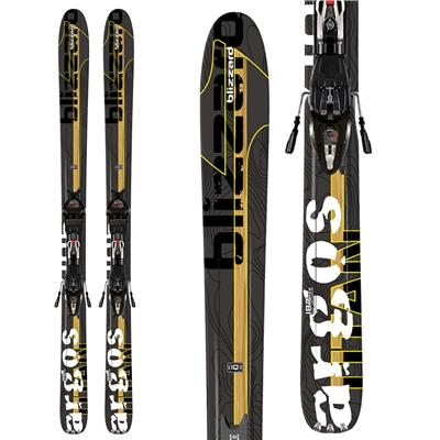Blizzard Titan Argos Skis + IQ Max 12 Demo Bindings - Used 2012