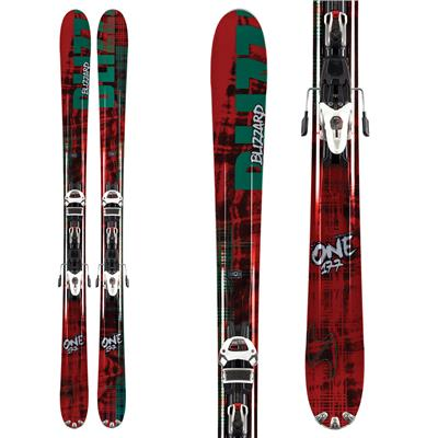 Blizzard The One Skis + IQ Max 12 Demo Bindings - Used 2012