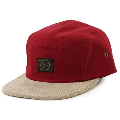 Obey Clothing Halifax 5 Panel Hat