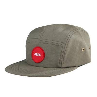 Obey Clothing Circle Patch 5 Panel Hat