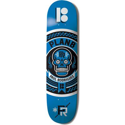 Plan B Paul Rodriguez 2.0 Crest 8.0 Skateboard Deck