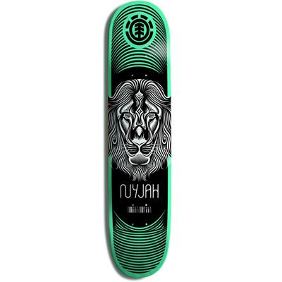 Element Nyjah Lion Imprint Skateboard Deck