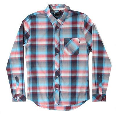 Nike SB Killingsworth Stretch Plaid Long-Sleeve Button-Down Shirt