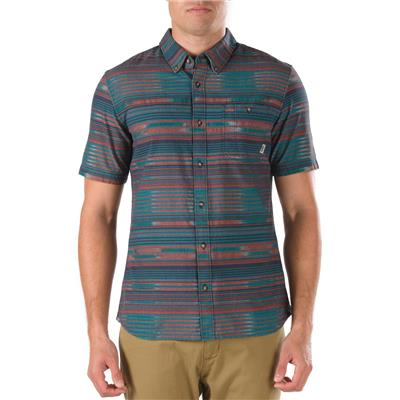 Vans Rusden Stripe Short-Sleeve Button-Down Shirt
