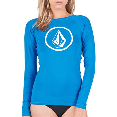 Volcom Simply Solid Long-Sleeve Rashguard - Women's 2014
