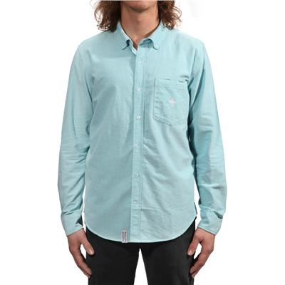 LRG Core Collection Oxford Long-Sleeve Button-Down Shirt