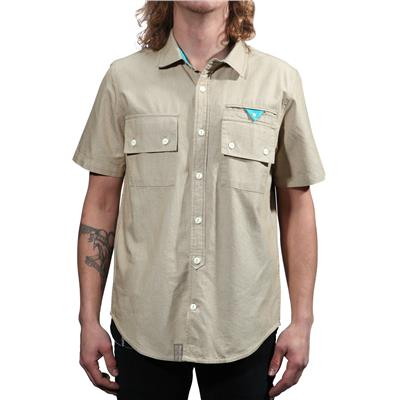 LRG Unnatural Palete Short-Sleeve Button-Down Shirt