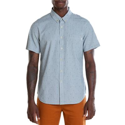 Obey Clothing Crossline Short-Sleeve Button-Down Shirt