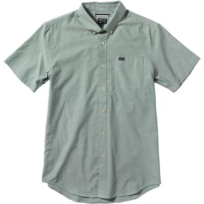 RVCA That'll Do Oxford Short-Sleeve Button-Down Shirt