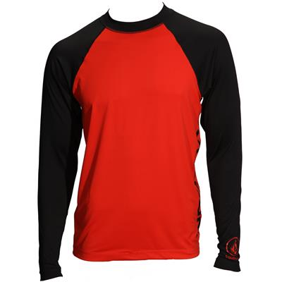 Volcom Colorblock Long-Sleeve Rashguard 2014