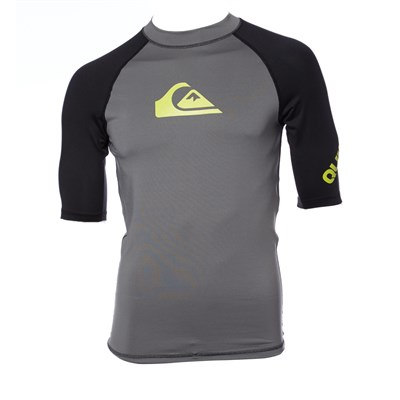 Quiksilver All Time Short-Sleeve Rashguard 2014