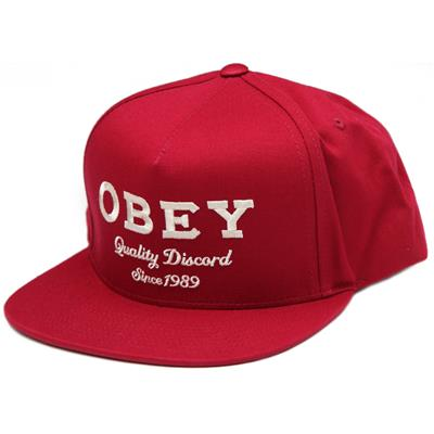 Obey Clothing Discord Snapback Hat