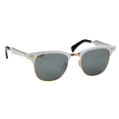 Ray Ban RB 3507 Aluminum Clubmaster Sunglasses