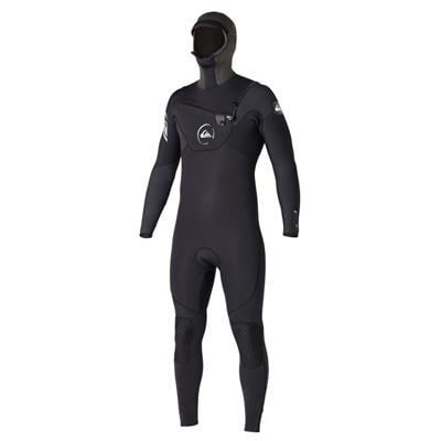 Quiksilver Cypher 5/4/3 Hooded Chest Zip Hydrolock Wetsuit