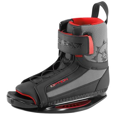Slingshot Option Open Toe Wakeboard Bindings 2014