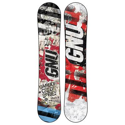 GNU Carbon Credit Club Collection Snowboard - Blem 2014