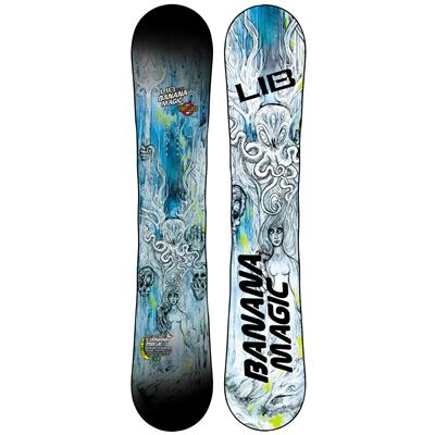 Lib Tech Banana Magic Enhanced BTX HP Snowboard - Blem 2014