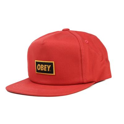 Obey Clothing Stock Snapback Hat