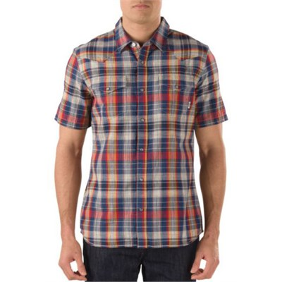 Vans Edgeware Short-Sleeve Button-Down Shirt