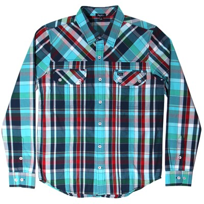 LRG Higher Field Long-Sleeve Button-Down Shirt