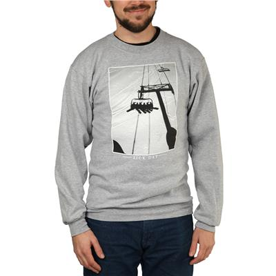 Casual Industrees Sick Day Crewneck Sweatshirt