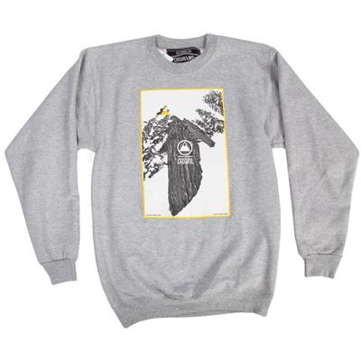 Casual Industrees Tree Plant Crewneck Sweatshirt