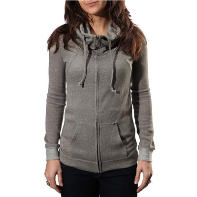 Volcom Knit Me A Zip Hooded Sweatshirt - Women's