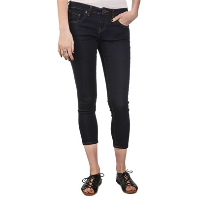 Volcom Hot Crop Denim Skinny Jeans - Women's