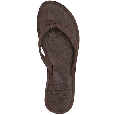 Reef Creamy Leather Sandals - Women's