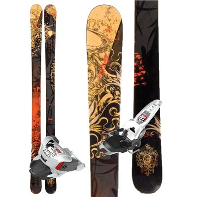 Dynastar Distorter 6th Sense Skis + Marker Griffon Demo Bindings - Used 2011
