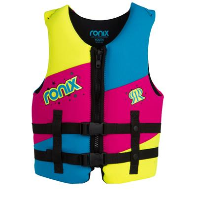 Ronix August Youth CGA Wakeboard Vest - Girl's 2014