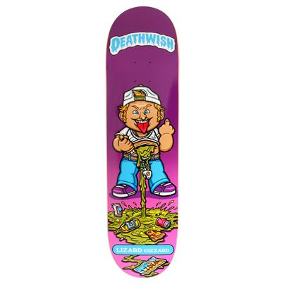 Deathwish Lizard King Low Life Kids 8.38 Skateboard Deck