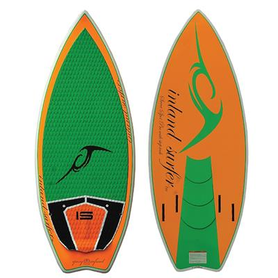 Inland Surfer Sweet Spot Pro Wake Surfboard 2014