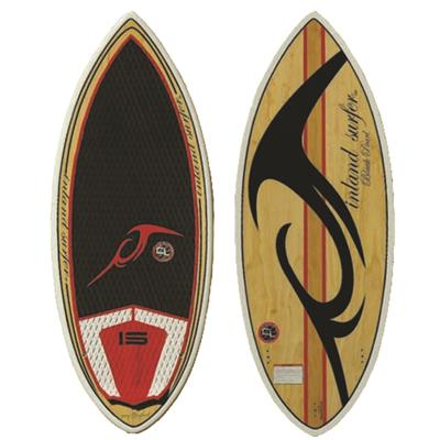 Inland Surfer 4Skim Black Pearl Wake Surfboard 2014