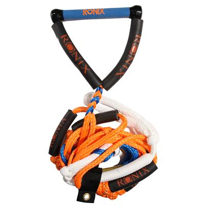 Ronix 25 ft 4-Section Bungee Surf Rope + 10 Inch Hide Grip Handle 2014
