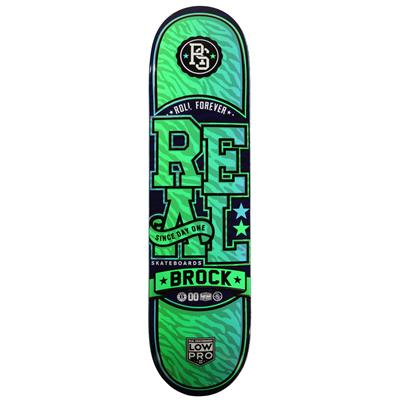 Real Brock Git Wild! Low Pro 2 8.125 Skateboard Deck