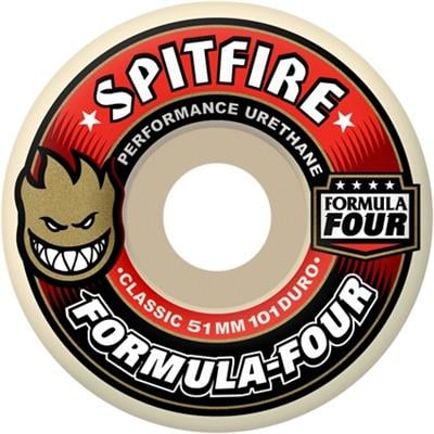 Spitfire Formula Four 101d Classic Shape Skateboard Wheels