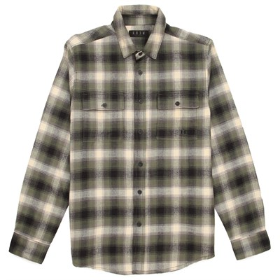 Kr3w Ambush Long-Sleeve Button-Down Flannel