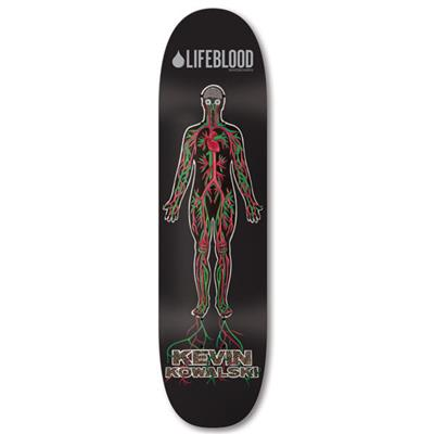 Lifeblood Kowalski Veined Skateboard Deck