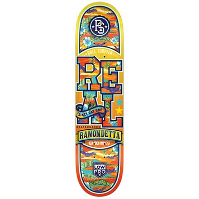 Real Ramondetta Spring Break Low Pro 2 7.81 Skateboard Deck