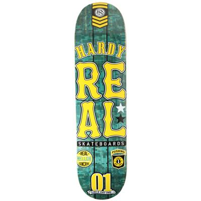 Real Hardy Urban Ops Mellow 8.02 Skateboard Deck