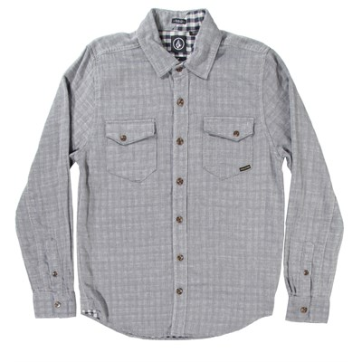 Volcom Checkmate Long-Sleeve Button-Down Shirt