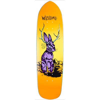 Welcome Jackalope 8.6 On Squidbeak Shape Skateboard Deck
