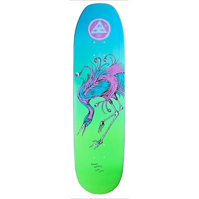 Welcome Love Watcher 8.5 On Moontrimmer Shape Skateboard Deck
