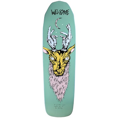 Welcome Lawerence Elk 8.8 On Basilisk Shape Skateboard Deck