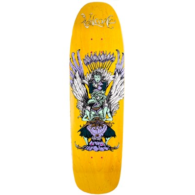 Welcome Adam Garuda 9.0 On Magic Mace Shape Skateboard Deck