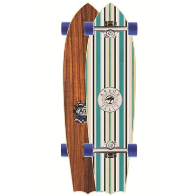 Arbor Rally Longboard Complete