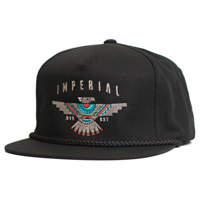 Imperial Motion Raven Golf Hat